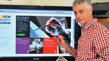 Silk Pearce has redesigned the Norfolk & Norwich Open Studios website with larger imagery, cleaner p