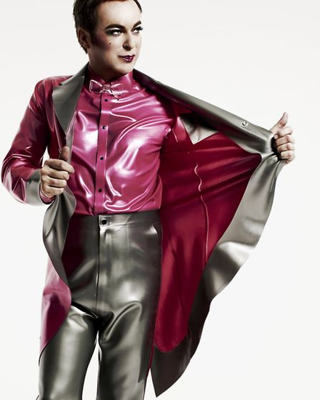 Julian Clary comes to the Ipwich Regent later this month.