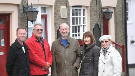 A group of 35 people are trying to buy The Black Buoy pub in Wivenhoe. L-R John Moores, Mark Bielec