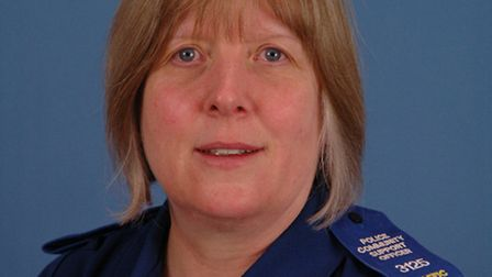 PCSO Sue Medcraft has died two weeks after the death of her husband Brian.