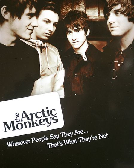 Launch of a new biography of band the Arctic Monkeys by Woodbridge-based DJ, musician, writer and br