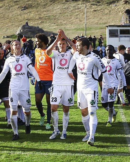 IBV and Gunnar Thorsteinsson celebrate victory