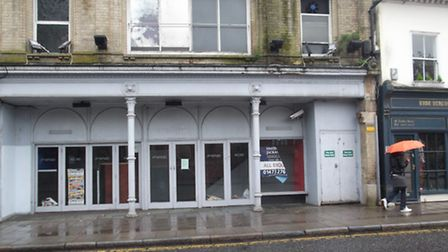 The former Fire and Ice nightclub in Tacket Street, Ipswich