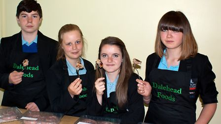 Pupils from Linton Village College, near Saffron Walden, created a winning 'Sharing Sausage', and go