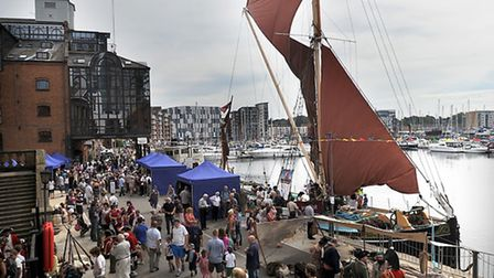 One of the reasons given for the increase in visitors was the Maritime Festival
