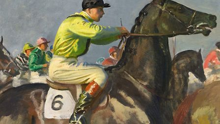 Suffolk artist Sir Alfred Munnings' painting The Yellow Jockey is expected to sell for up to £600,00
