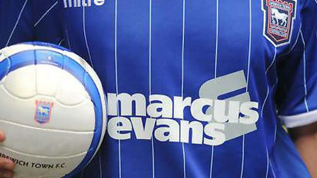 Marcus Evans has sponsored Ipswich Town's kits for the past five seasons