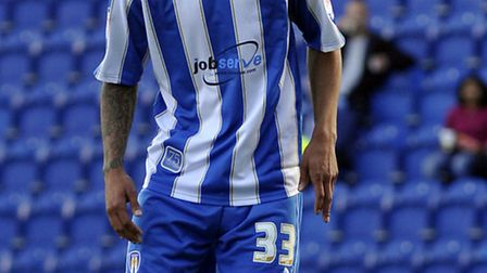 Craig Eastmond, who has signed a two-year deal with Colchester United