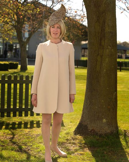 Angi Ashby-Hoare in her outfit for the Suffolk Show