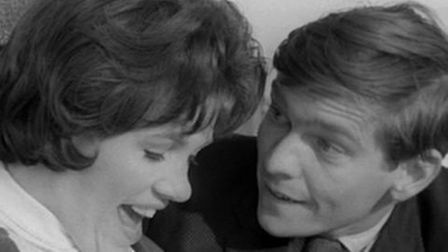 Tom Courtenay and Helen Fraser in Billy Liar which is being released on Blu-ray