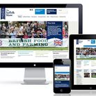 The new mobile-friendly web pages for the Suffolk show
