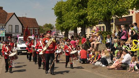 Crowds turned out in the sun for the annual Framlingham Gala