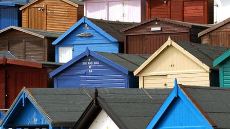 Beach hut owners will have a group to represent them in future. Photo: Anglia Press Agency and Warre