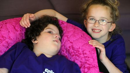 Four year old Skyla Creamer has a rare condition which means she has epileptic fits 400 times a day.