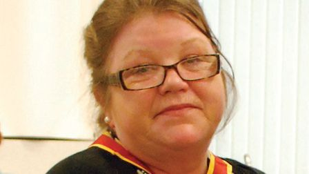 Stowmarket town councillor Anne Whybrow