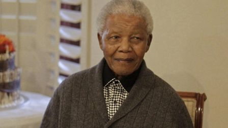 Nelson Mandela has been taken to a hospital because of a lung infection, according to the office of
