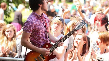 Ipswich Music Day, July 7, Christchurch Park, will see 56 acts play across seven stages. Picture: Je