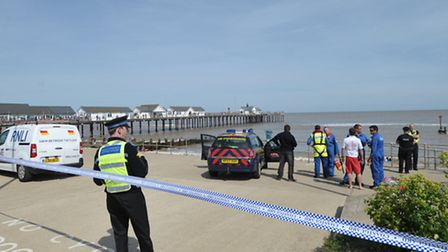 A search and rescue operation was carried out in Southwold on Sunday afternoon after there were comp