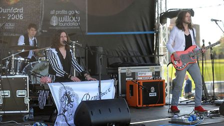 The LeeStock music festival in the grounds of Melford Hall in memory of Lee Dunford. Benjamin Bloom