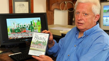 Hedley Griffin from Laxfield has made an animated DVD about the Mid-Suffolk Light Railway called the