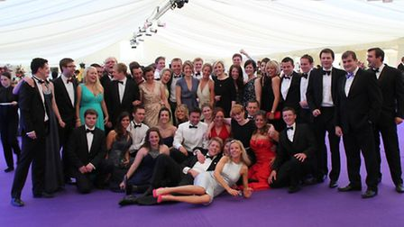 Dunmow YFC at the 70th ball