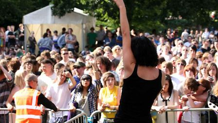 Ipswich Music Day is one of the highlights of the town's calendar. Picture: Jen O'Neill