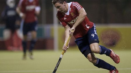 Ipswich-born Harry Martin in action for England at the World League in Malaysia.