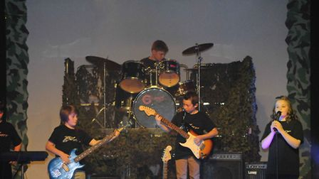 Battle of the Bands took place at Bacton Community Middle School for the 6th year running