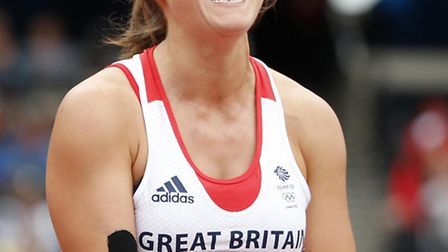 Goldie Sayers in action at last summer's Olympic Games