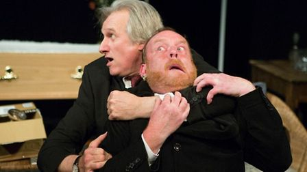 Richard Mainwaring and Julian Harries in Stuff In The Attic by Pat Whymark, Common Ground Theatre Co