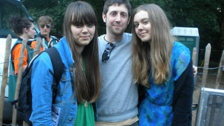 First Aid Kit (and Harvey Furniss, centre) at Latitude 2010