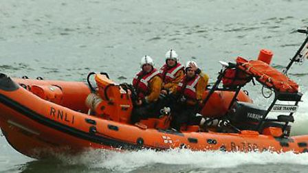A teenager swimmer was rescued by lifeboat crews after getting into difficulty near Clacton Pier.