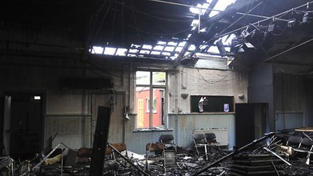 Fire at Trimley Memorial Hall