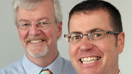 Peter Disney, left, of Wood and Disney, and Brendon Howlett, who is joining the firm as operations d