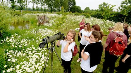 The annual Suffolk Agricultural Association Student Food and Farming Day held at Hollow Trees Farm,
