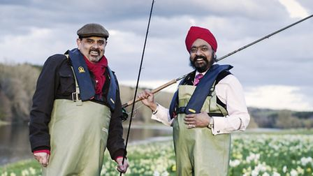 Chefs Cyrus Todiwala and Tony Singh, whose programme, The Incredible Spice Men: Todiwala And Singh