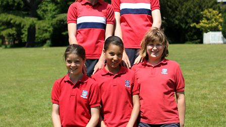 Five pupils from a Suffolk school will be heading to a national athletics final in Birmingham next m