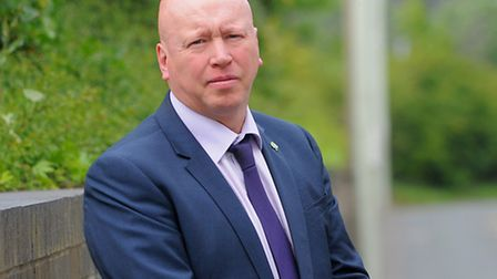 Aidan Thomas who will step down as chief executive of the Norfolk and Suffolk NHS Foundation Trust o