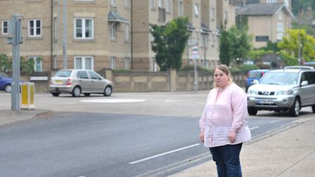 Sarah Wright is launching an e -petition against plans to remove the double roundabout on Norwich Ro