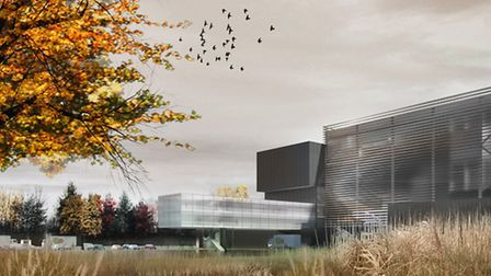 An artist's impression of what the Ipswich SITA plant will look like