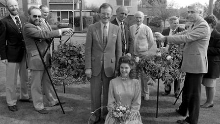 From The Archives East. Miss Woodbridge in Bloom May 1989