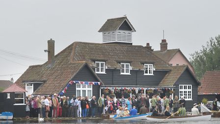 Celebration of the 100th anniversary of Thorpeness Meare.