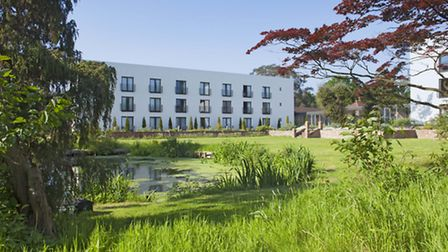 By the lake at Lifehouse Spa and Hotel