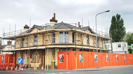 A number of old pubs in Ipswich are being converted into supermarkets. The Golden Key on Woodbridge