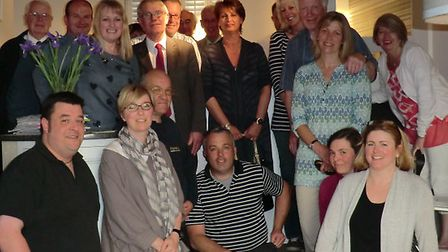 Business chiefs got together to discuss the future of Saxmundham High Street.