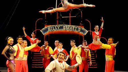 Billy Smart's Circus has come to Bury St Edmunds for the weekend.