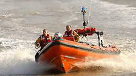 Swimmers are rescued off the coast of Felixstowe