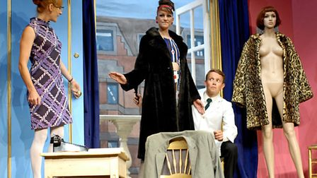 Not Now Darling by Ray Cooney & John Chapman, Southwold Summer Theatre, (left to right) Imogen Slau