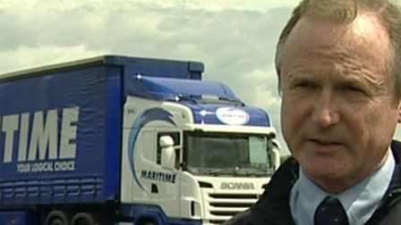 John Williams, managing director of Maritime Group, which has its HQ at Felixstowe.