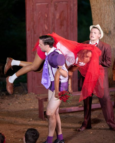 Red Rose Chain's The Taming of the Shrew. Photos: Nick Woolgar